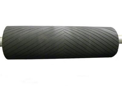 Herringbone Grooved Design