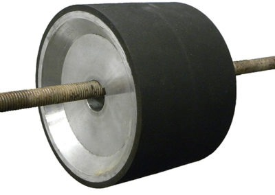 Rubber Roller Crown Finish
