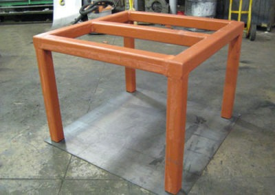 Rubber Covered Table
